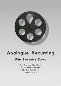 Analogue Recurring Invite copy